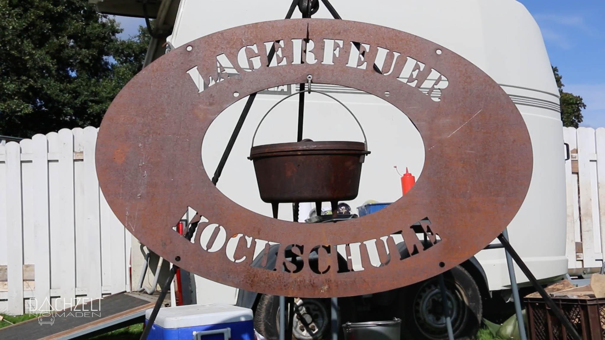 Dachzeltnomadentreffen 2017 | Lagerfeuer Kochschule | Foto: Lars Wendt
