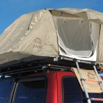 ... stayed in it with my two girls (then 11 and 8 years) plus Dachshund in it. Troublesome! u201d On Traveldiary  he reports on his experiences with the tent. & The lightest rooftop tents in the flyweight ision   DACHZELTNOMADEN