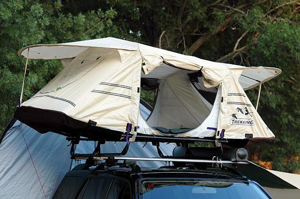 Dachzelt Trekking Oasis: 17 kg | Bild: Daktec