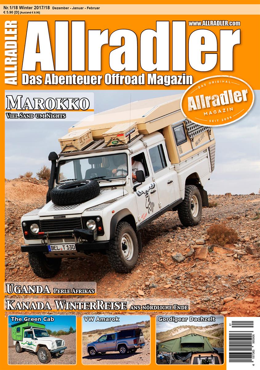 Das Dachzeltnomadentreffen 2017 in der aktuellen Ausgabe des Allradler