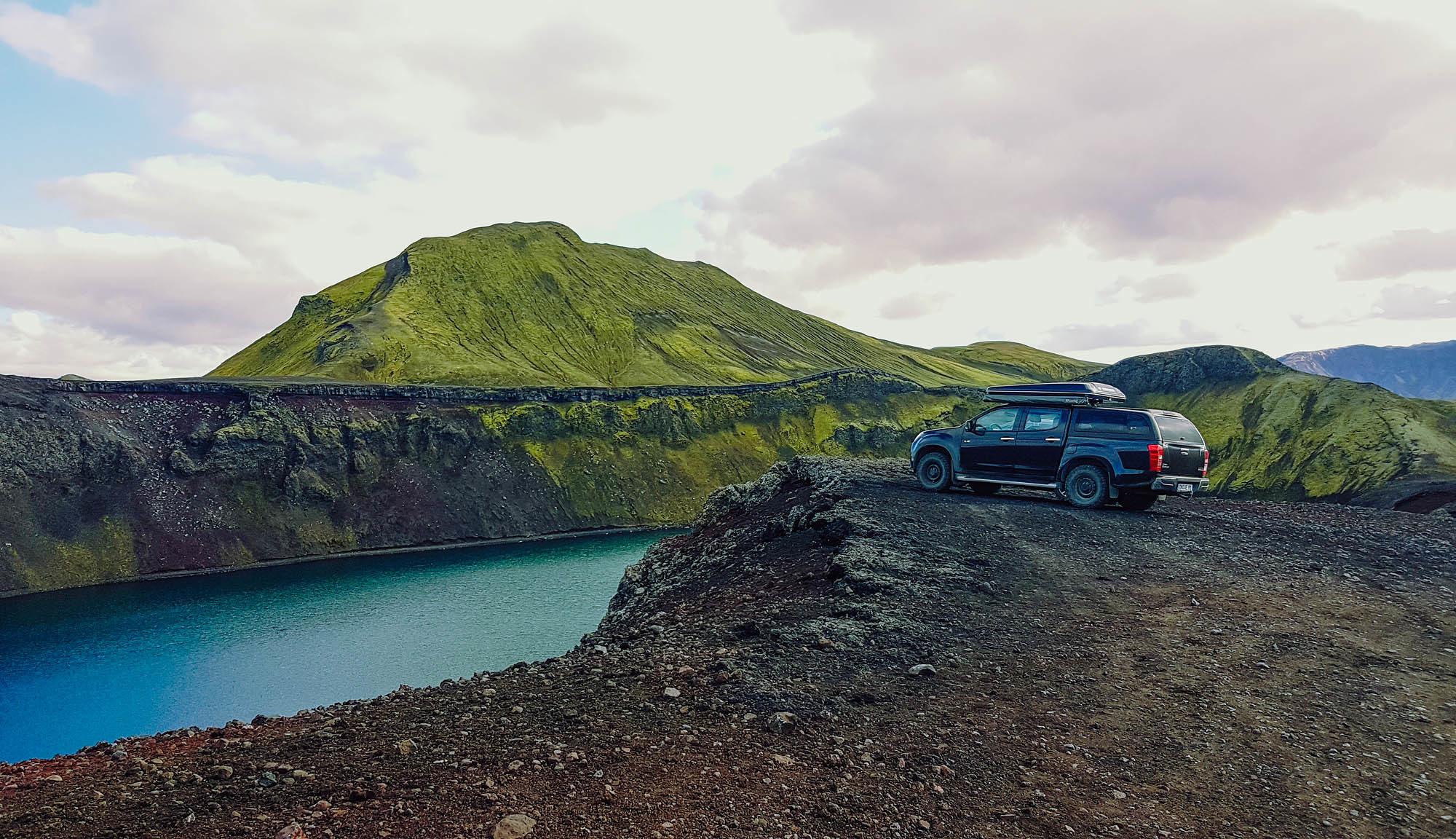 Auf Reisen im isländischen Hochland