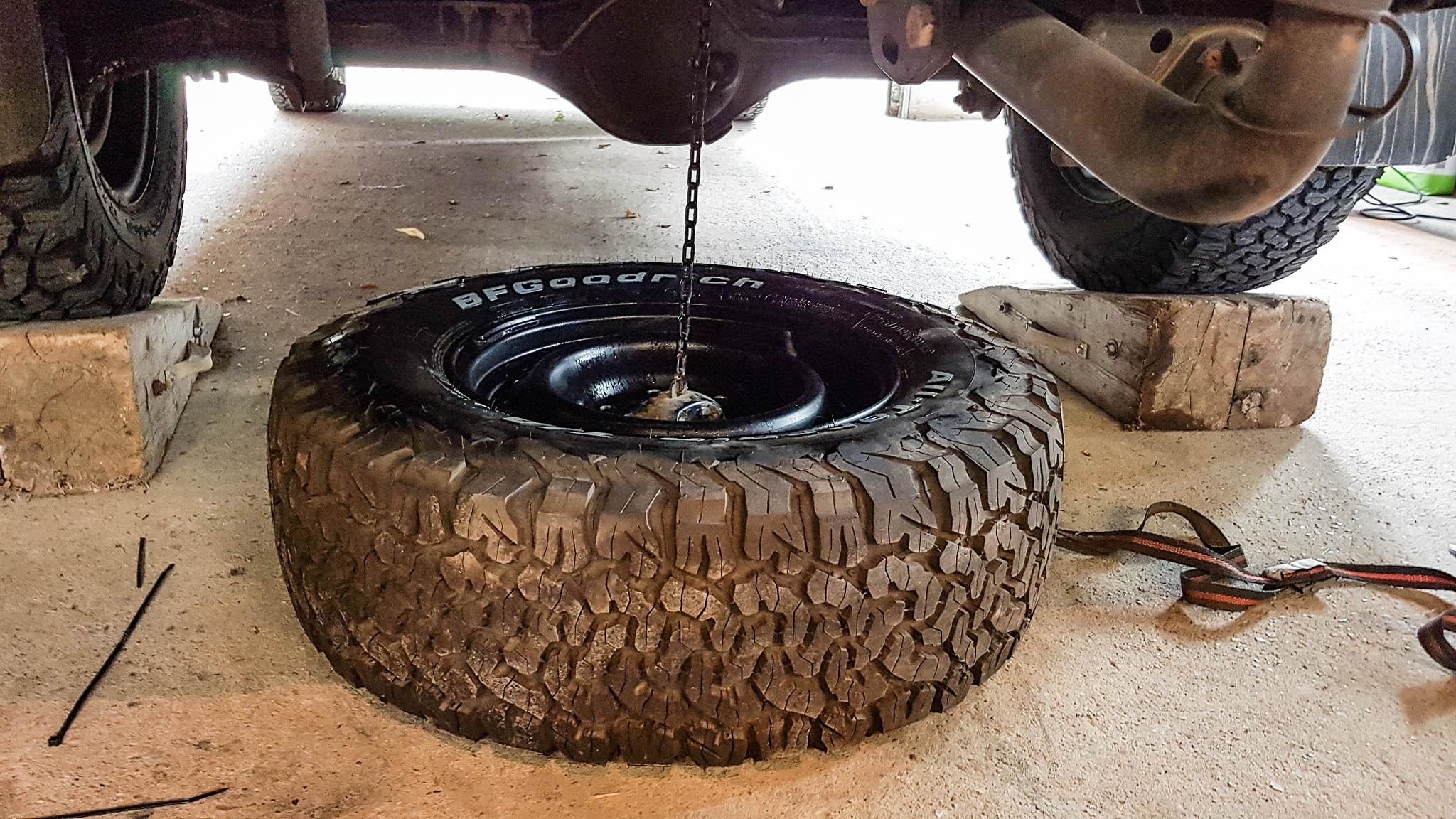 Ein vollwertiges Ersatzrad ist wohl die beste Variante, um einer Reifenpanne zu entgegnen.