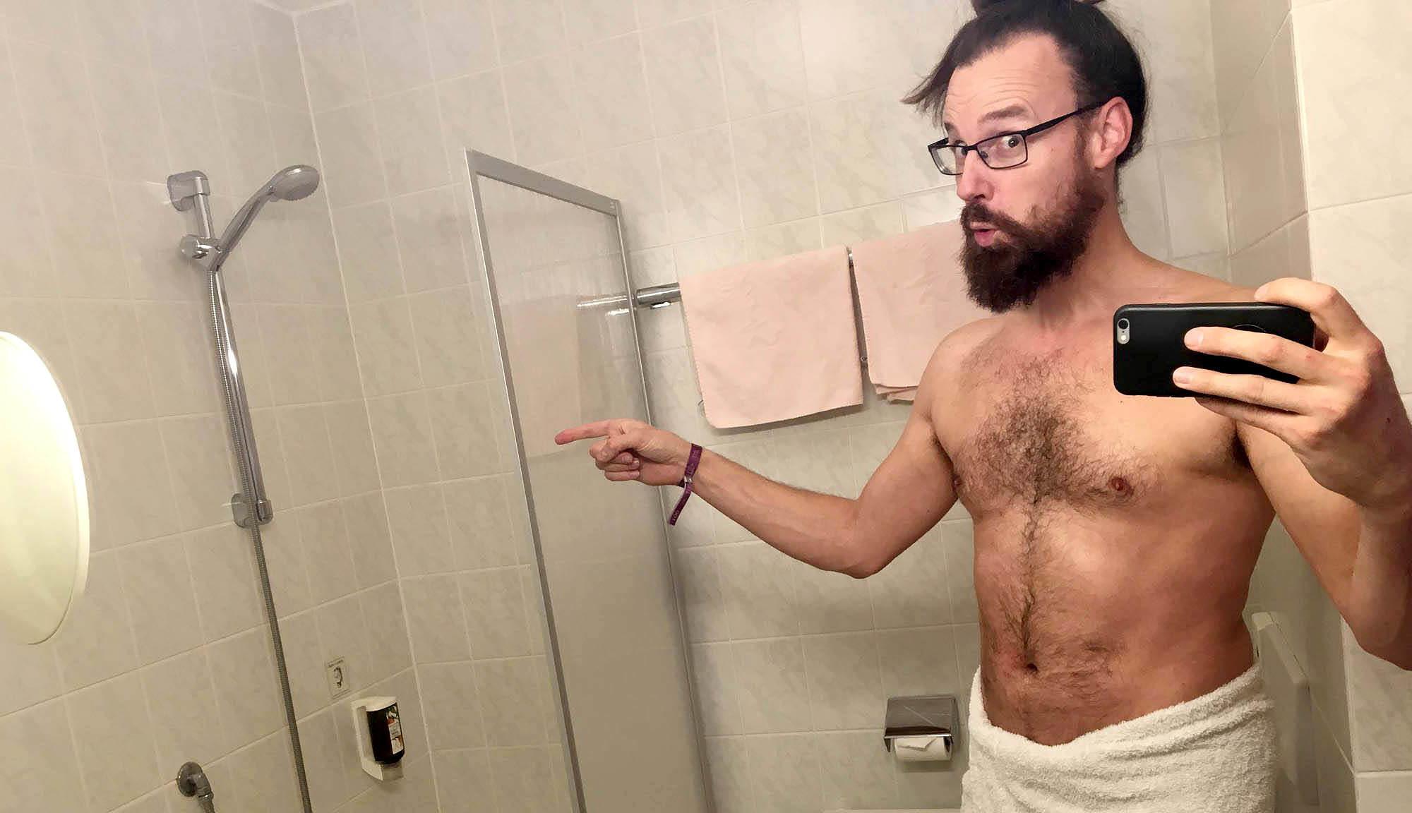 VISIT-X Geile Deutsche unter der Dusche