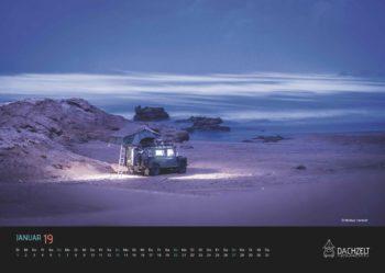 1 Wandkalender_Dachzeltnomaden_Dachzelt_Januar
