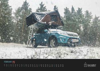 2 Wandkalender_Dachzeltnomaden_Dachzelt_Februar