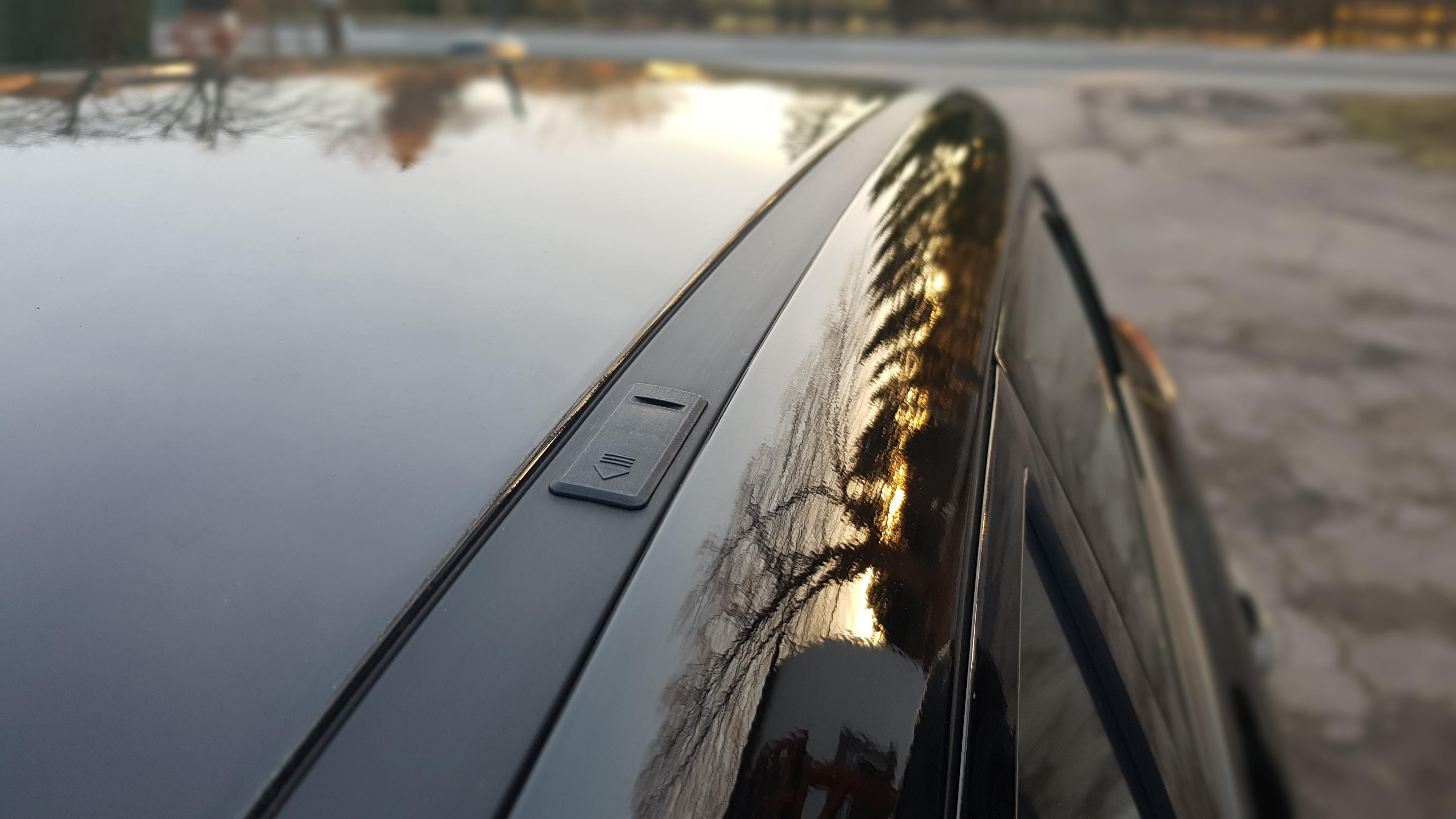 Fixpunkte zur Dachträgermontage