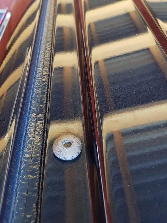 Fixpunkt im Autodach