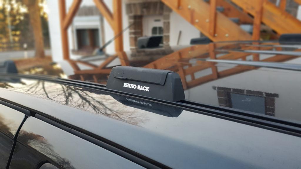 Schienenkit als Aufnahme für Dachträger