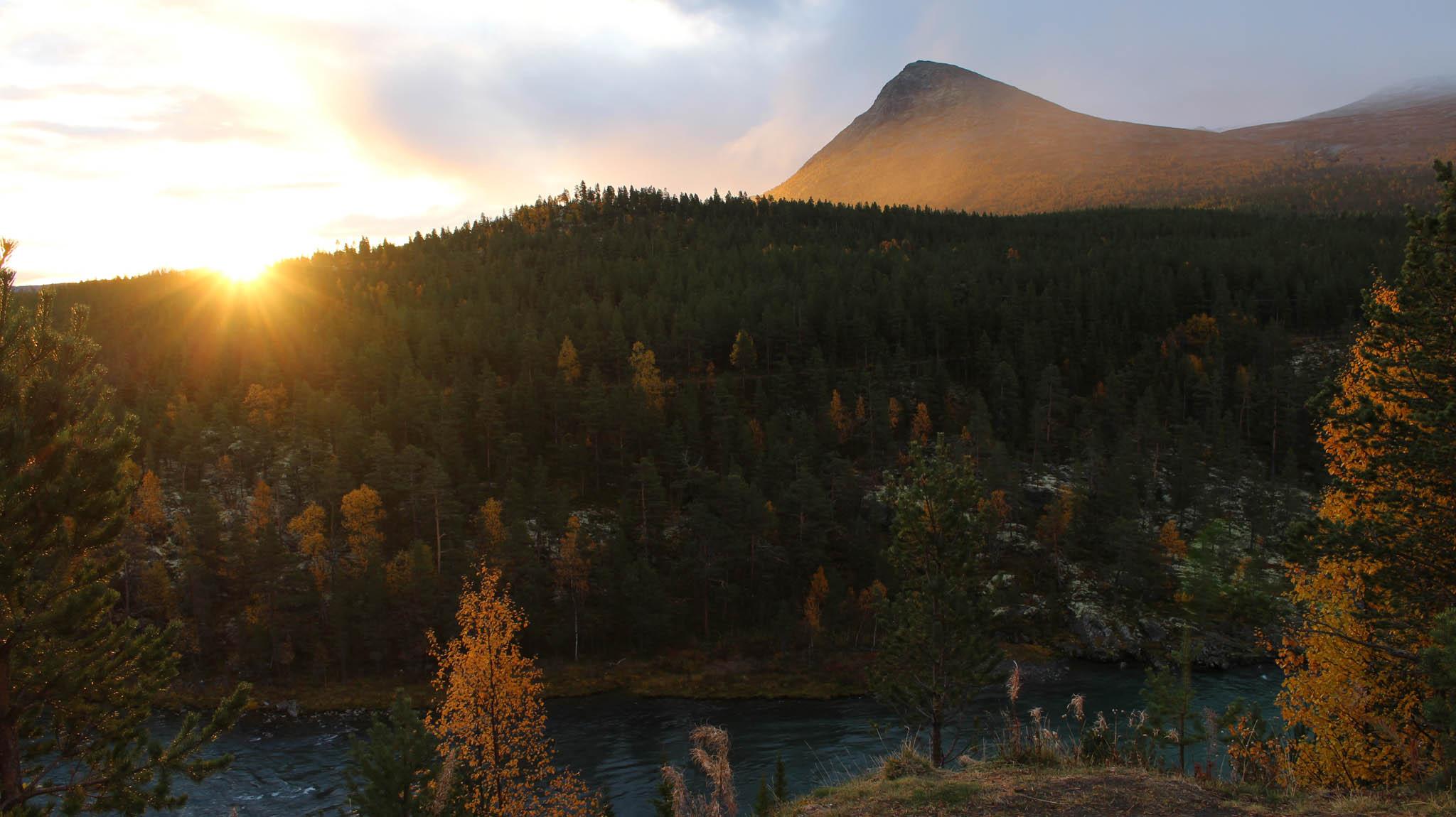Das erste Ziel mit dem selbstgebauten Dachzelt: Norwegen