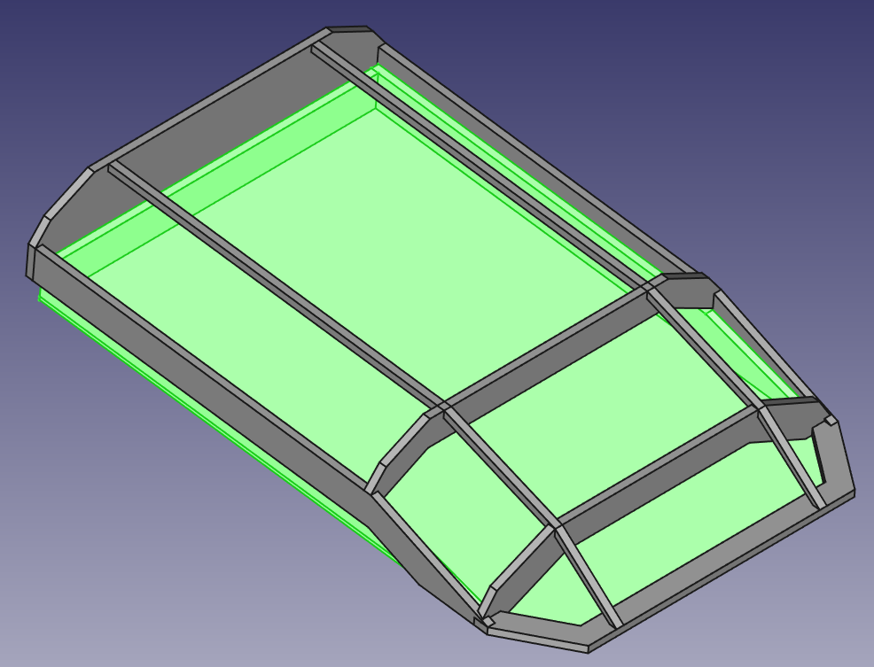 CAD Model Dachzelt