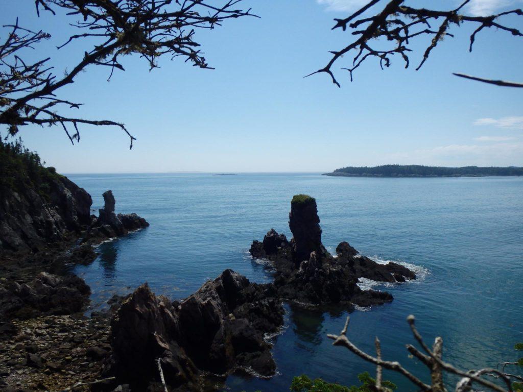 Wild campen am Meer