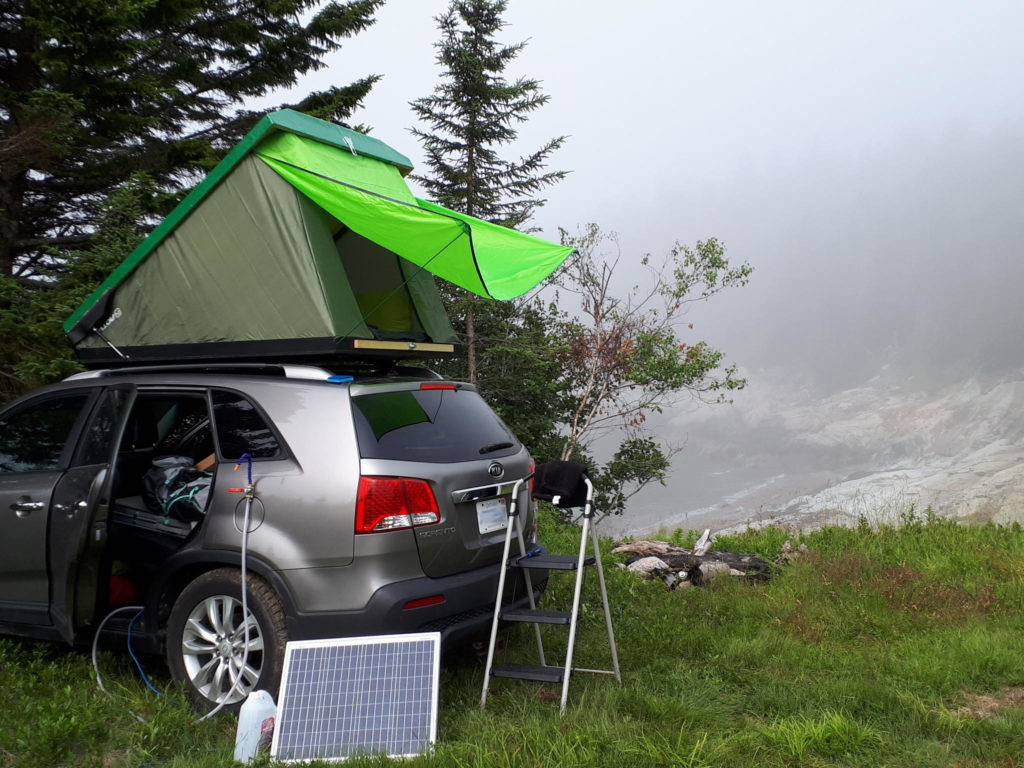 Dachzeltnomade camping