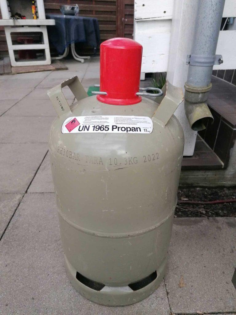 12 kg Gasflasche