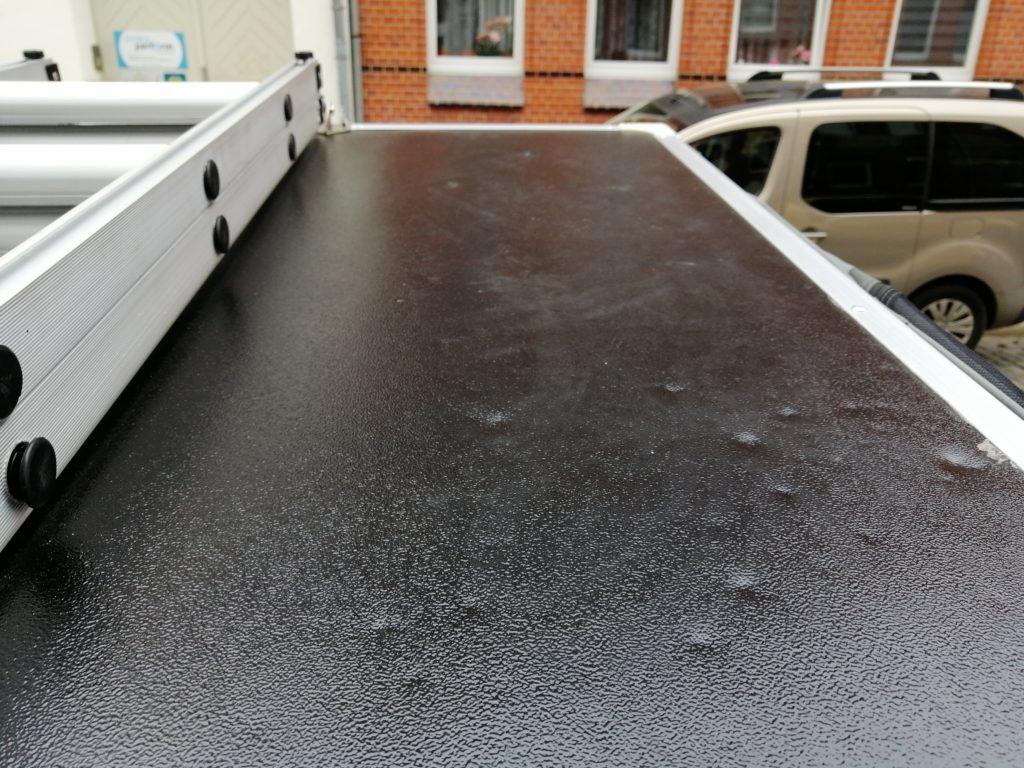 Hagelschaden am Dachzelt, Dachzelt Versicherung