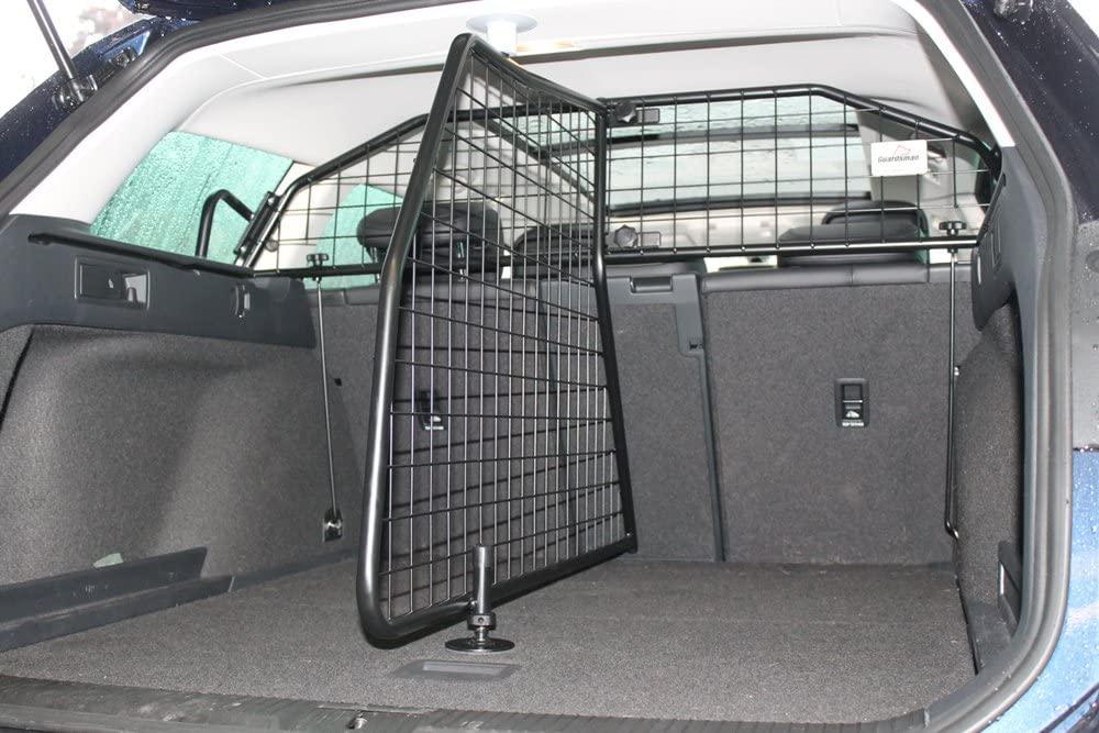 Geteiltes Hundetrenngitter für den Kofferraum