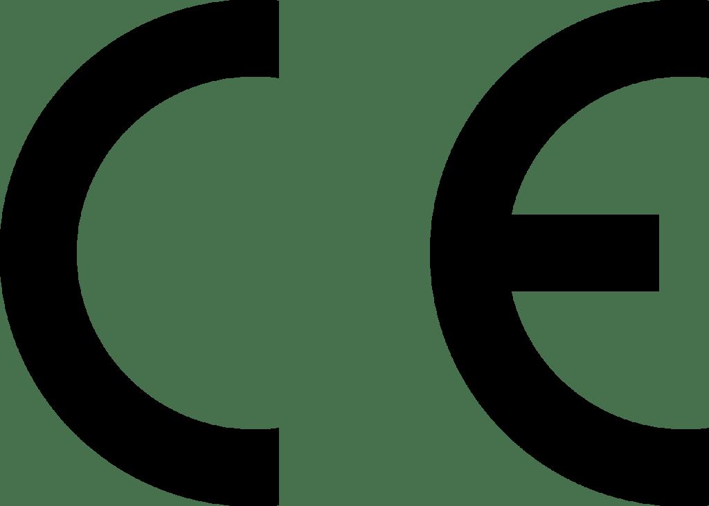 Das Foto zeigt das CE-Kennzeichen