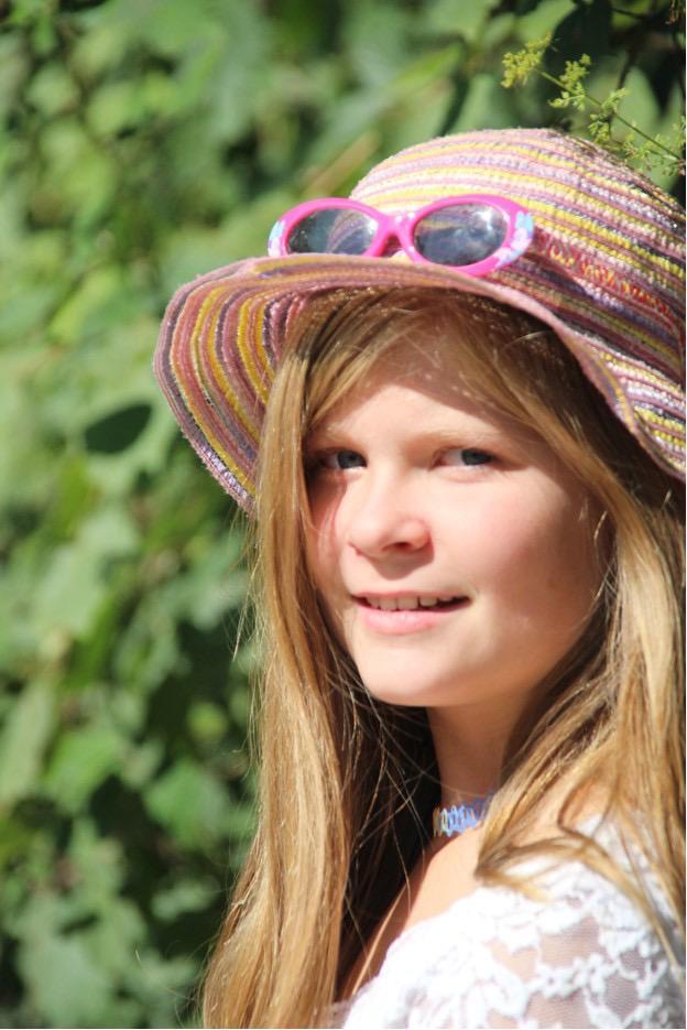 Portrait von Leonie als Kind