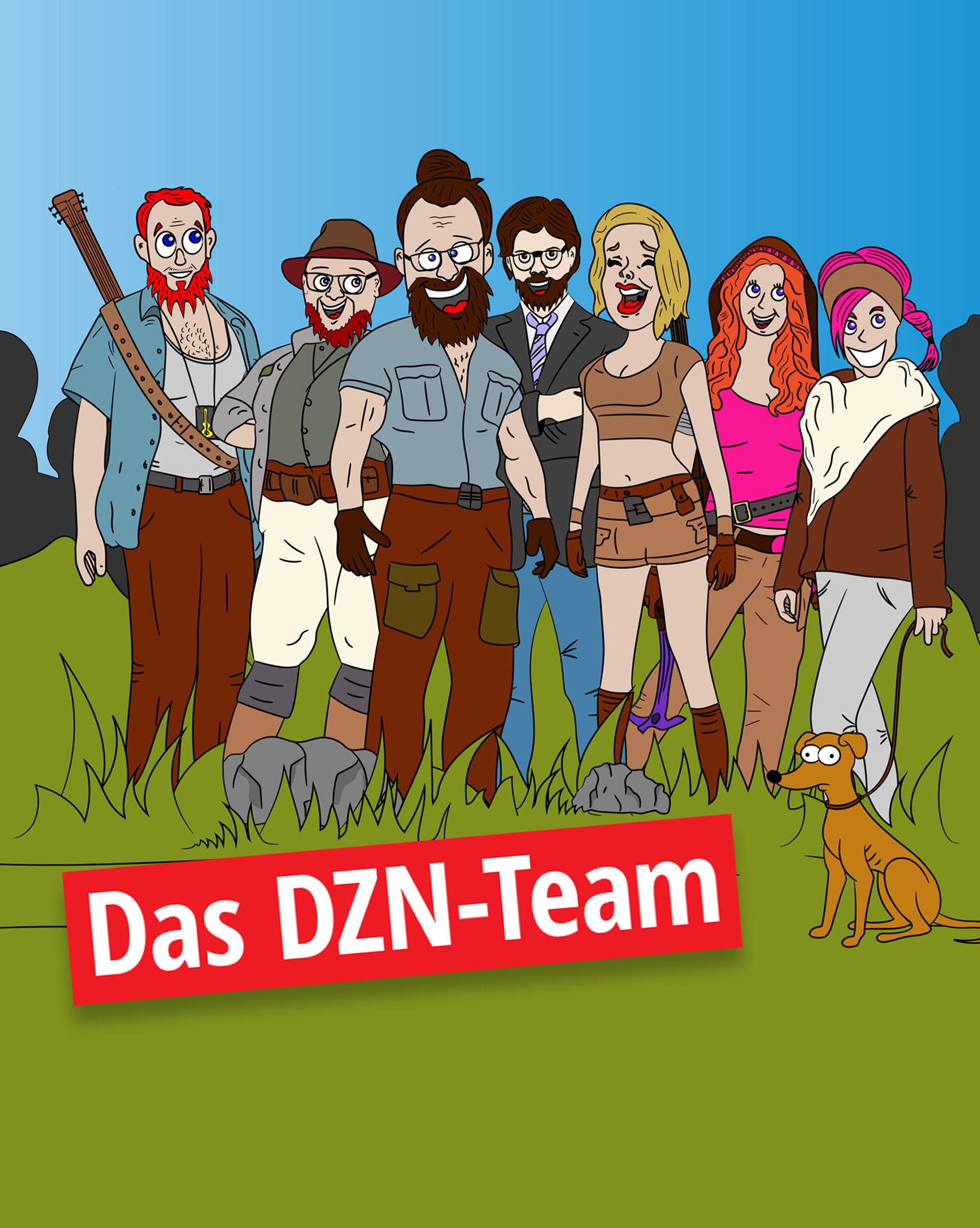 Das DZN Team